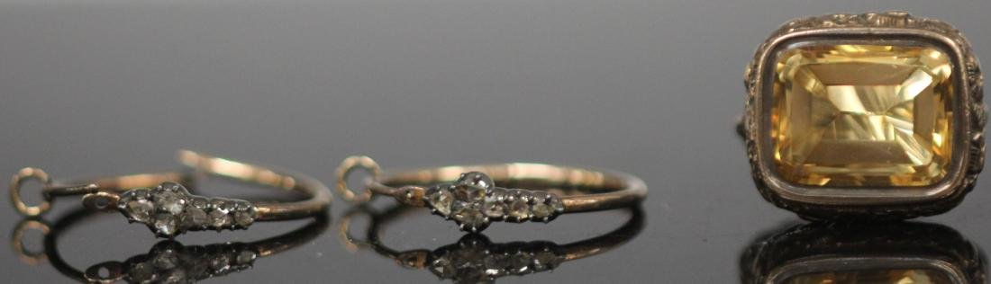 GROUPING OF VINTAGE 10KT JEWELRY