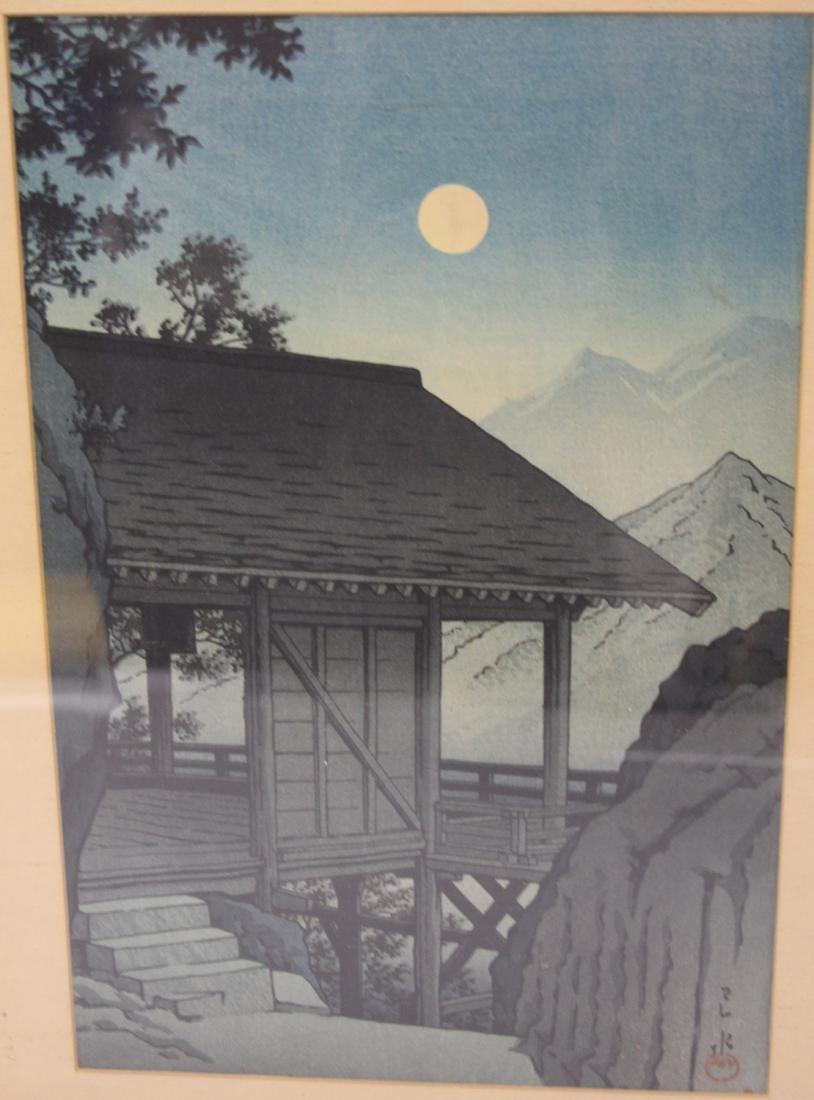 LOT OF (4) VINTAGE JAPANESE WOODBLOCK PRINTS - 4