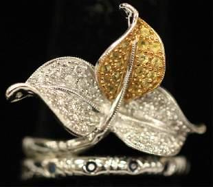 PAVE DIAMOND 18KT GOLD RING