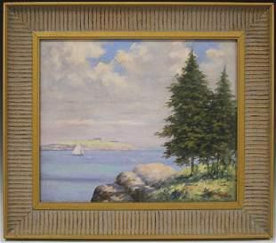 ALBERT MERCHANT (1881-1936), OIL ON CANVAS, 1918