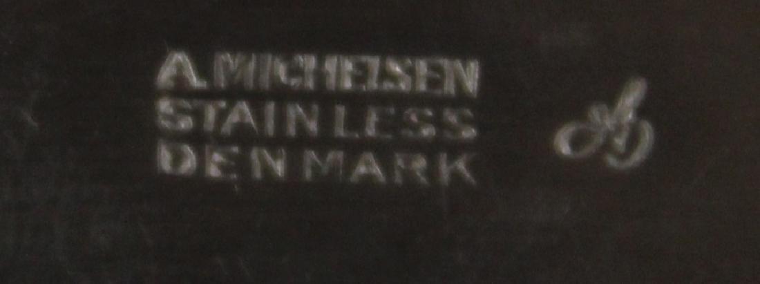 A. MICHELSEN, DENMARK STAINLESS STEEL FLATWARE SET - 3