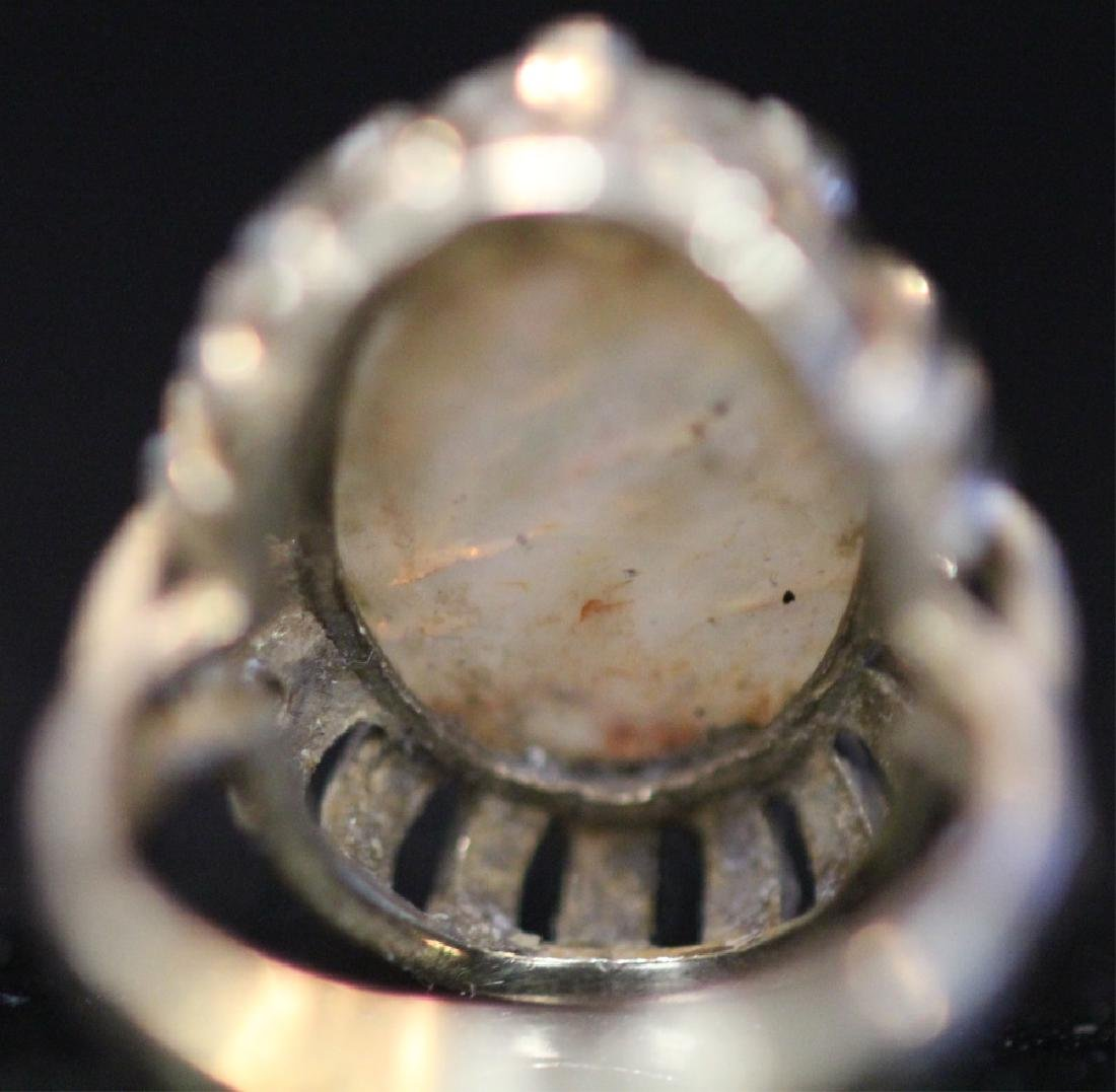 14KT GOLD OPAL DOUBLET RING - 5