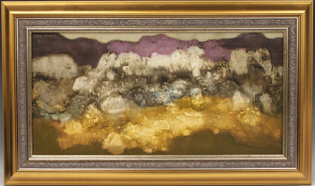 JAN HOOWIJ (1907-1987), OIL PAINTING, FRAMED