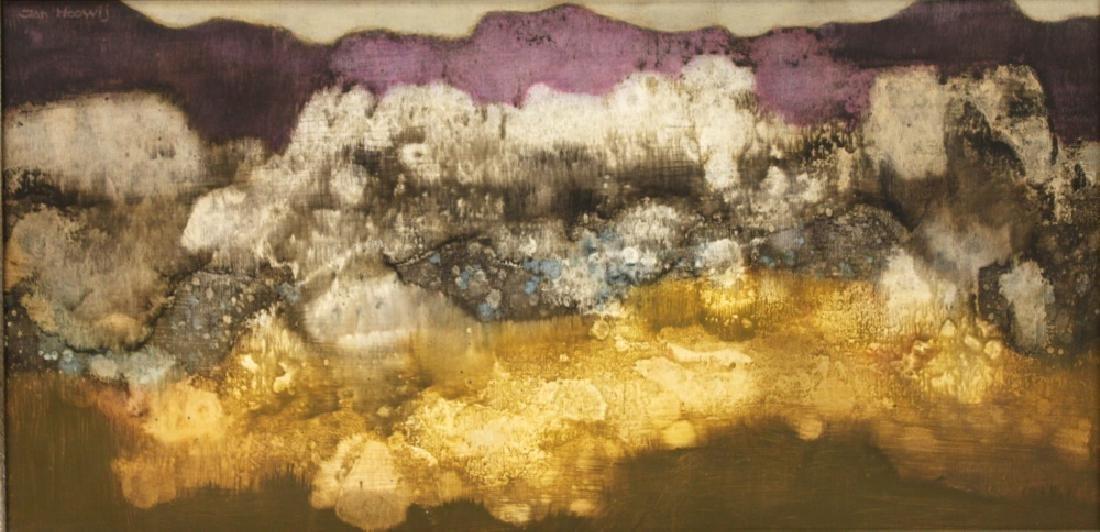 JAN HOOWIJ (1907-1987), OIL PAINTING, FRAMED - 2