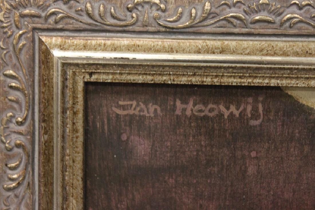 JAN HOOWIJ (1907-1987), OIL PAINTING, FRAMED - 4