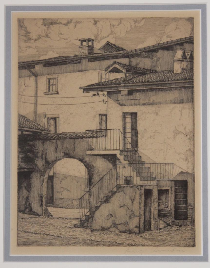 LUIGI LUCIONI (1900-1988): (5) ETCHINGS - 4