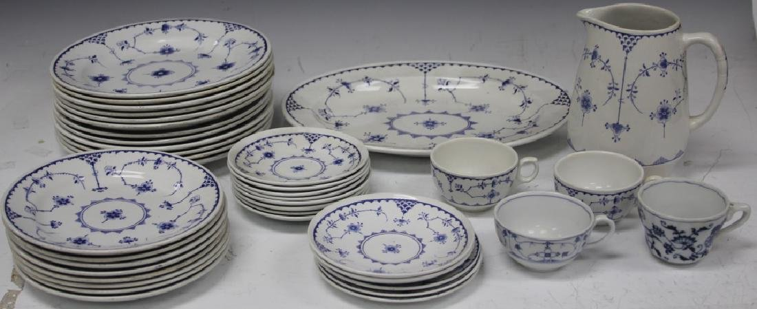 SET OF VINTAGE ENGLISH CHINA PLATES & CUPS