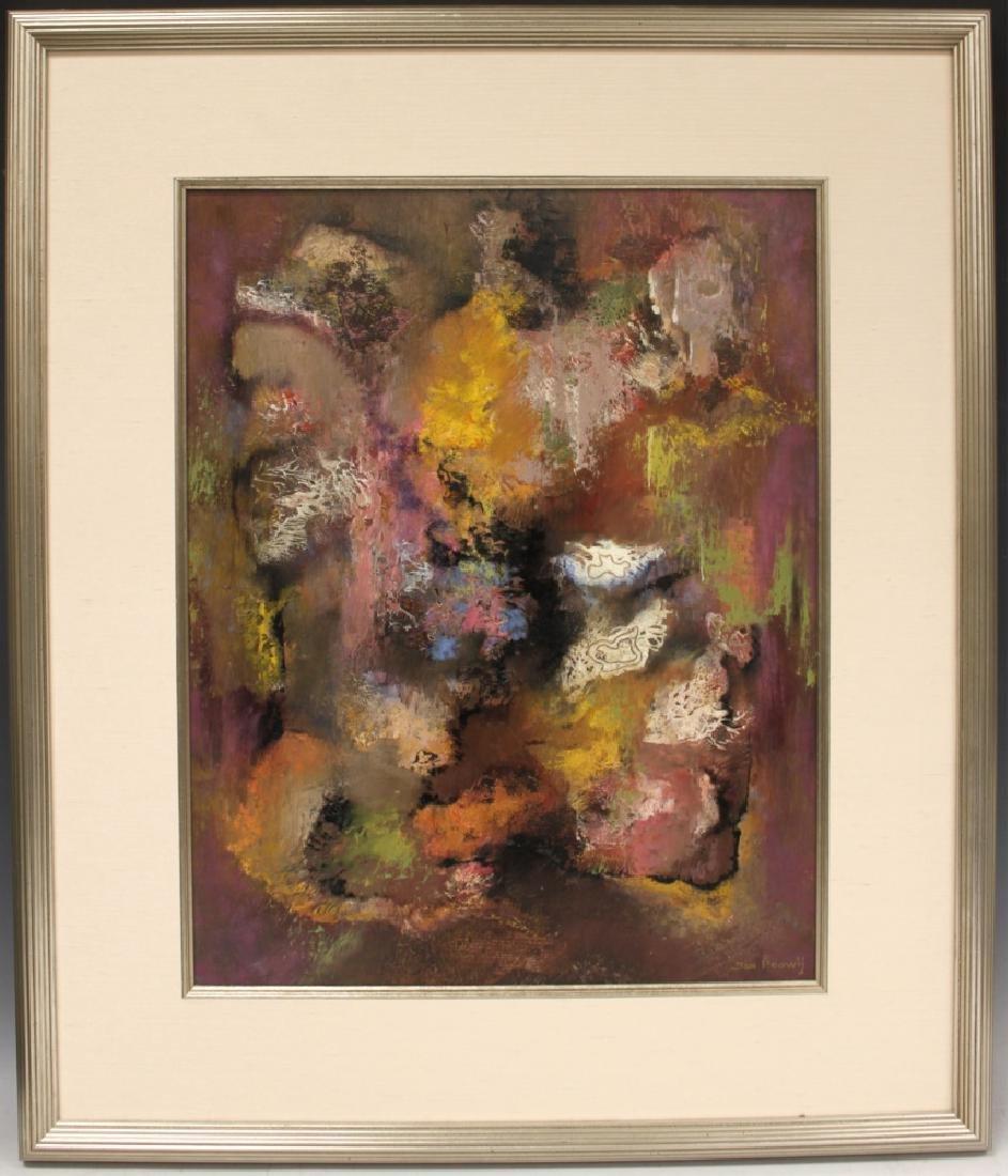 JAN HOOWIJ (1907-1987), OIL ON BOARD, FRAMED