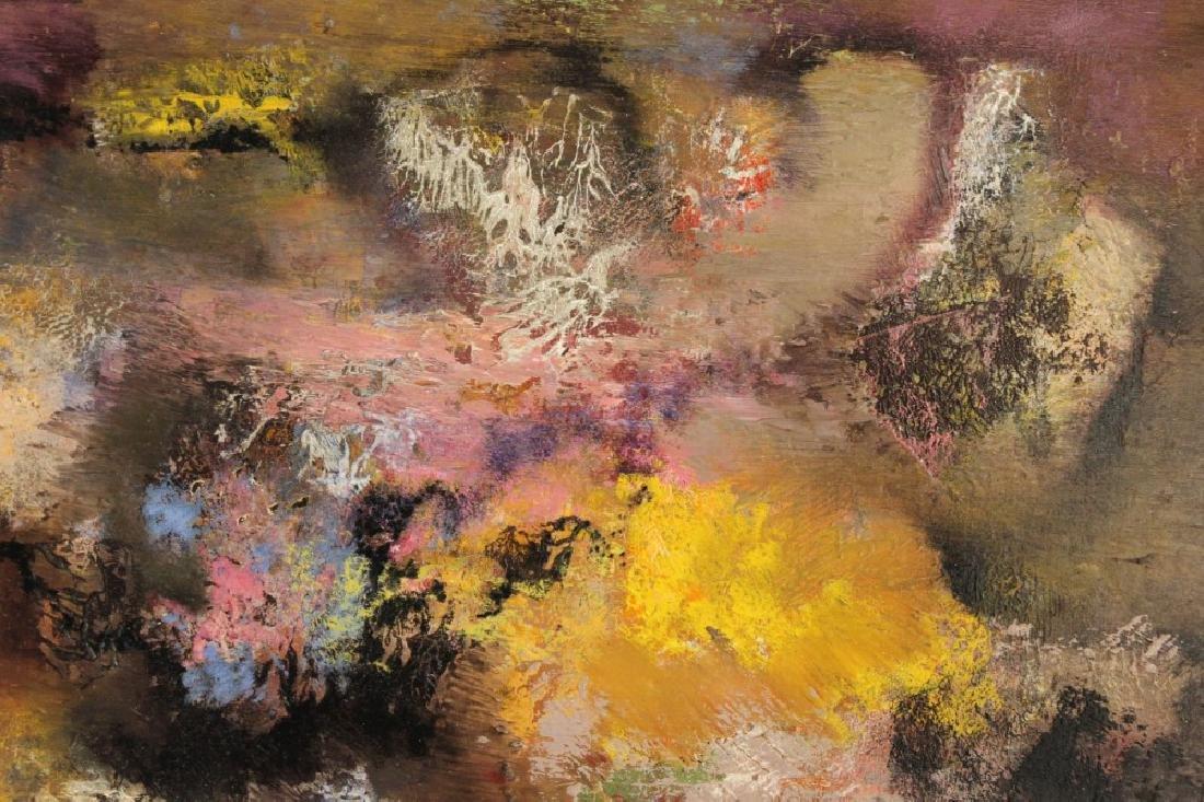 JAN HOOWIJ (1907-1987), OIL ON BOARD, FRAMED - 3