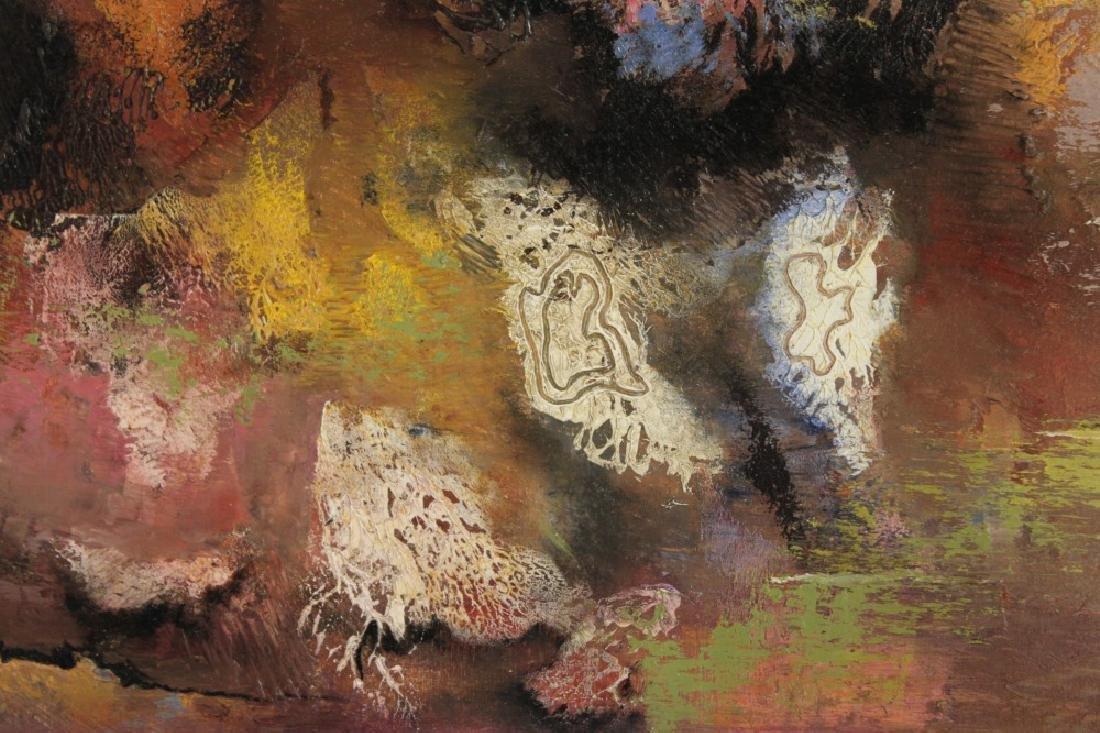 JAN HOOWIJ (1907-1987), OIL ON BOARD, FRAMED - 4