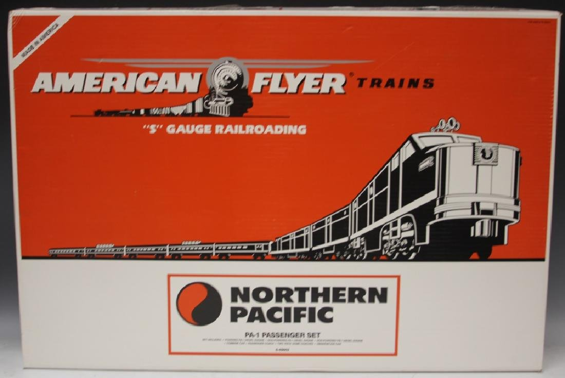 AMERICAN FLYER BOXED TRAIN SET