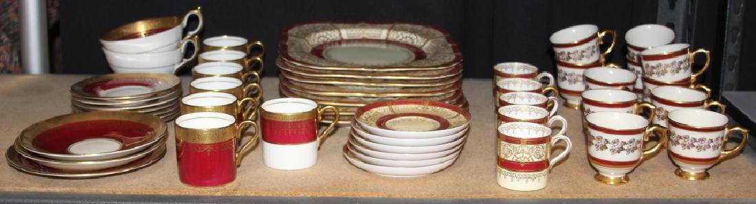 LOT OF ASSORTED CHINA, INCL. ROYAL WORCESTER GUMPS