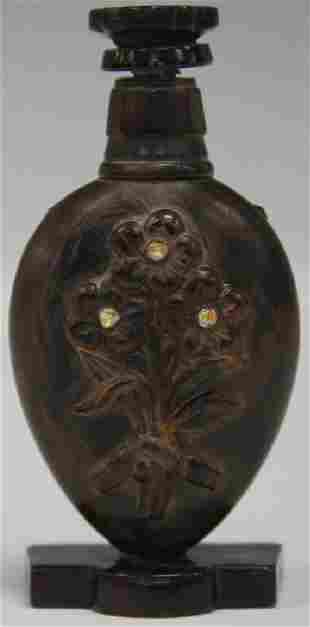 19TH C. CHINESE CARVED SNUFF BOTTLE