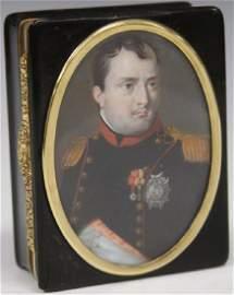 FRENCH 19TH C. GOLD INTERIOR PRESENTATION BOX