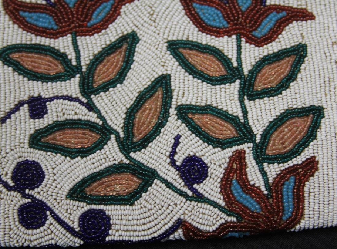 "LARGE BEADED BAG, 38"" L - 4"