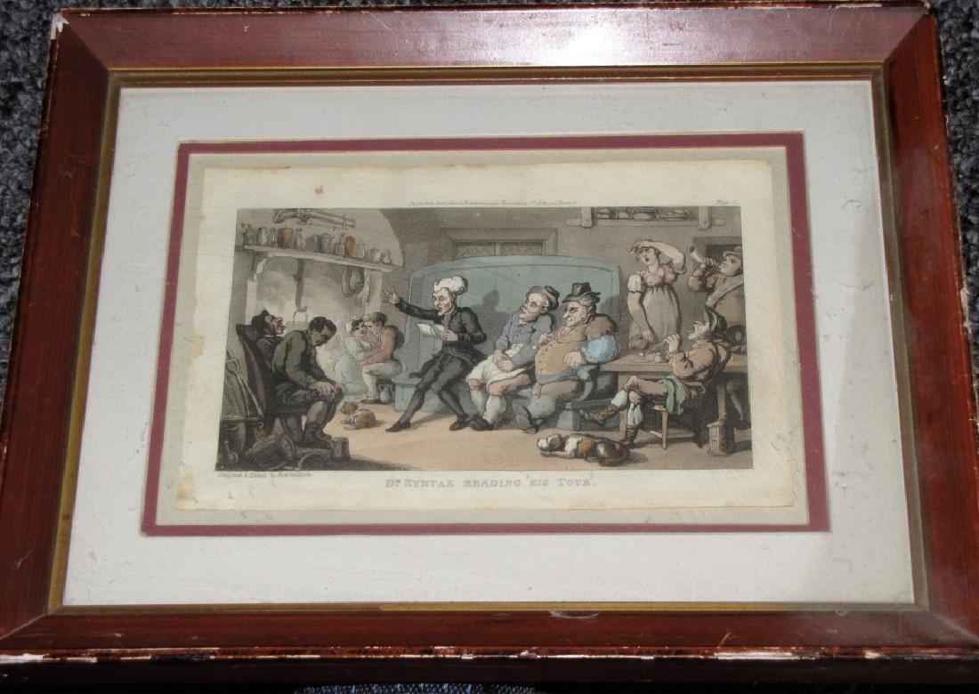 LOT OF (4) POLITICAL ETCHINGS, ENGRAVING & PRINT