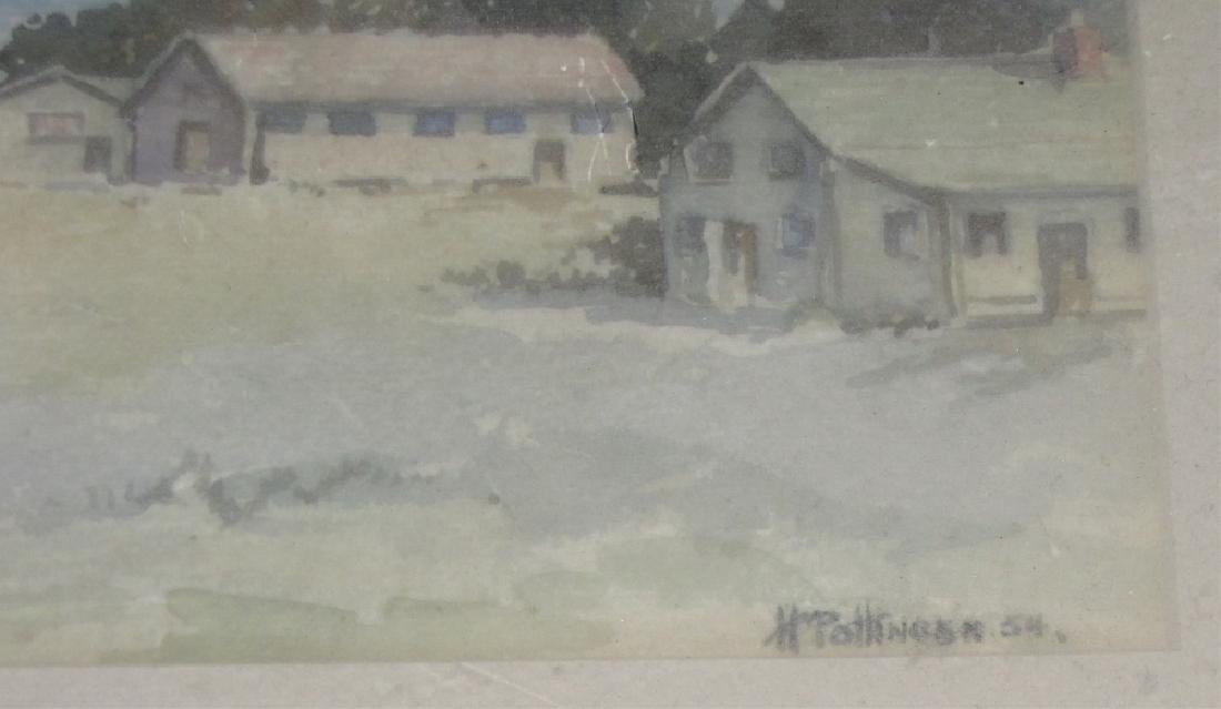 LOT OF (2) FRAMED WATERCOLORS OF LANDSCAPES - 3