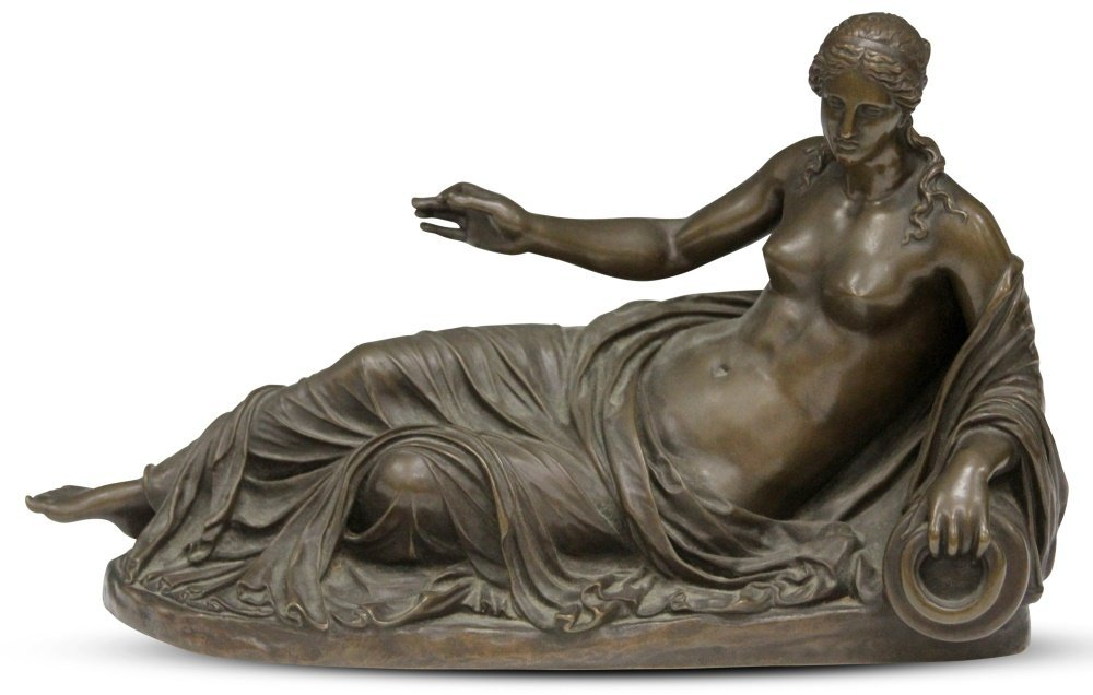 BARBEDIENNE (1810-1892), FRENCH BRONZE STATUE