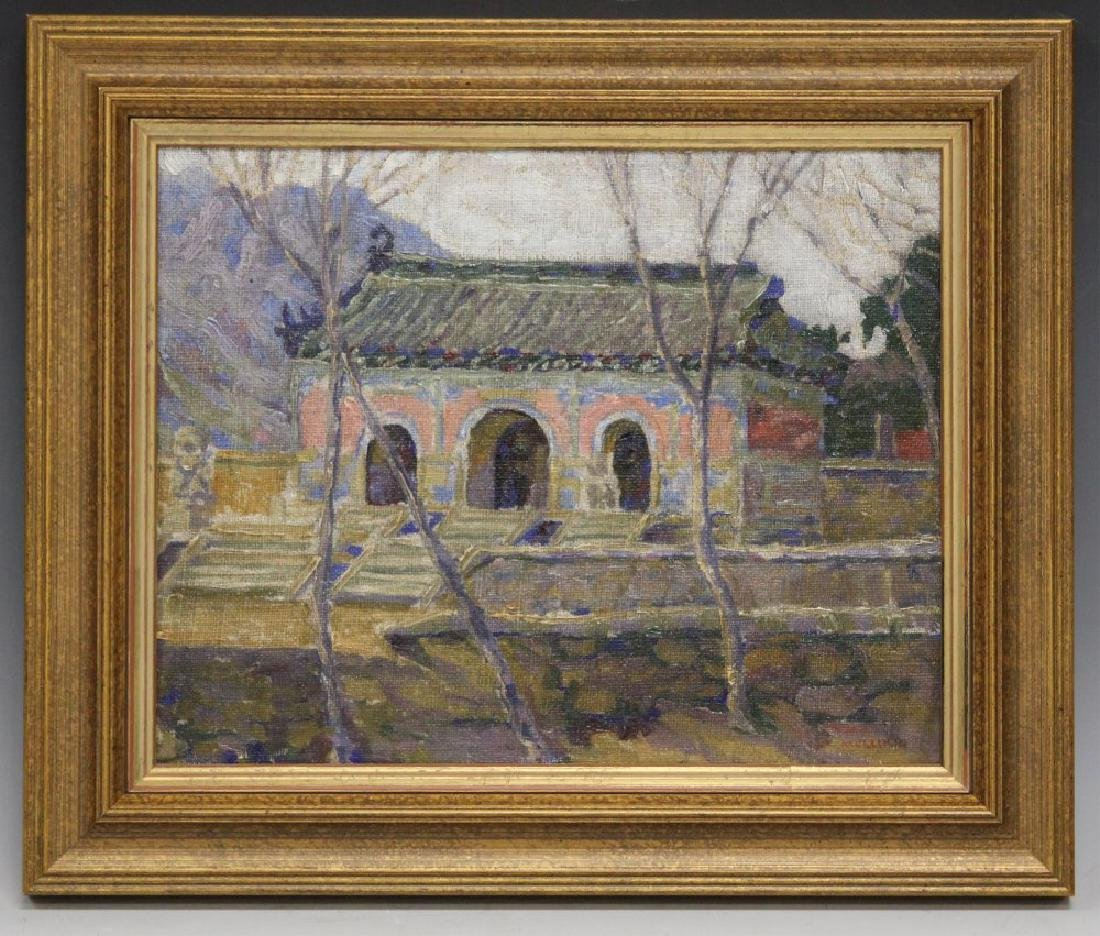 MARY AUGUSTA MULLIKIN (1874-1964), OIL ON CANVAS
