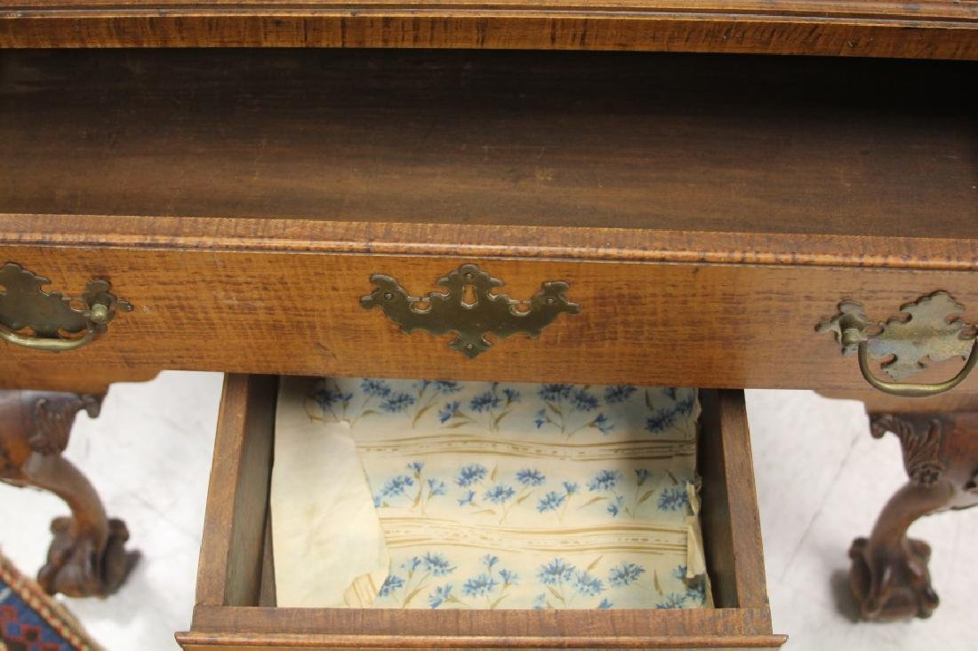 18TH CENTURY CHIPPENDALE MAPLE CHEST-ON-CHEST - 5