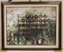 MICHEL DE GALLARD (1921-2007), OIL ON CANVAS