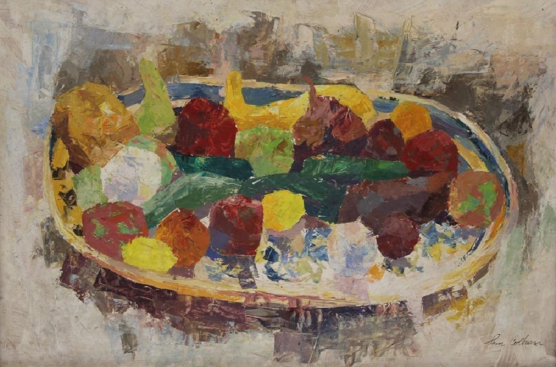 SAM BOLTON COLBURN (1909-1993), STILL LIFE O/B - 2