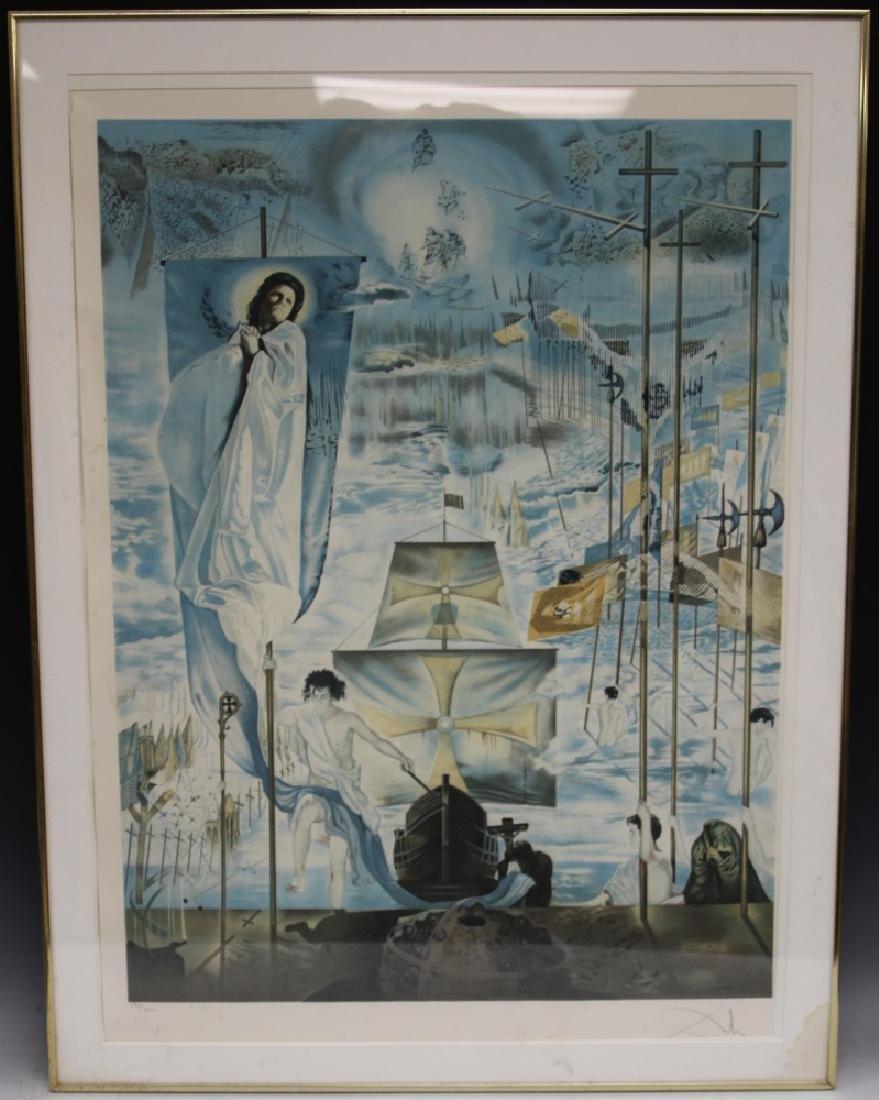SALVADOR DALI (1904-1989) PENCIL SIGNED LITHOGRAPH