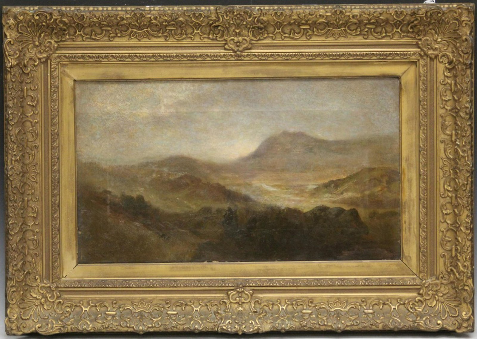 WILLIAM KEITH (1838-1911), OIL ON CANVAS, FRAMED