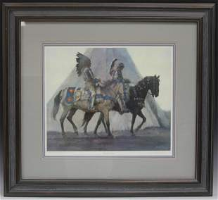 KENNETH PRICKET LITHOGRAPH