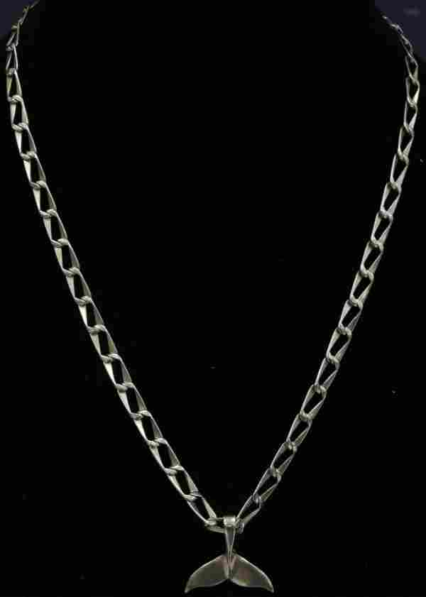 14KT YELLOW GOLD CHAIN NECKLACE W/ PENDANT