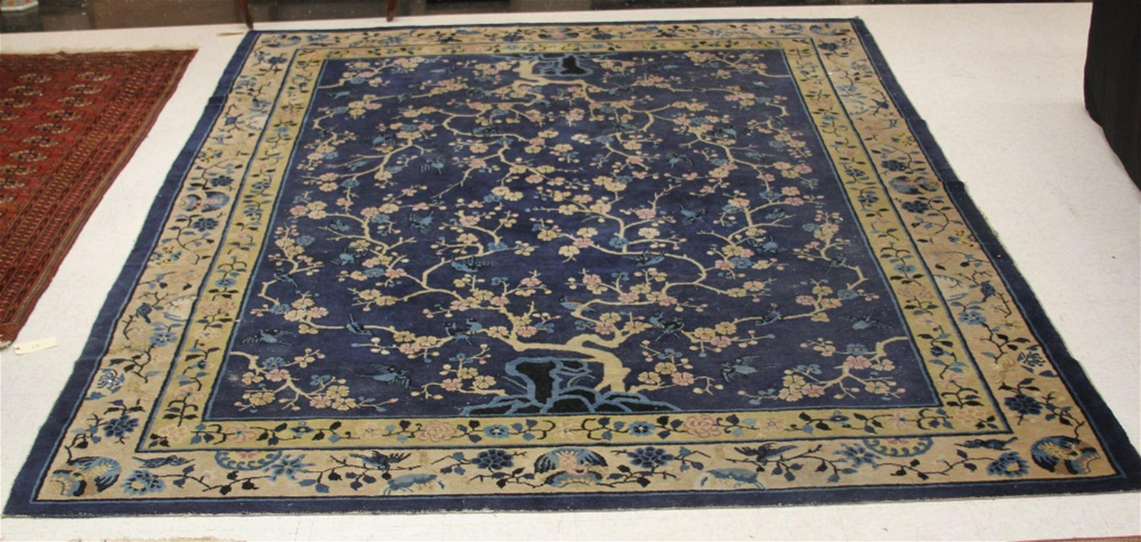 EARLY CHINESE ROOMSIZE CARPET