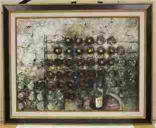 MICHEL DE GALLARD 19212007 OIL ON CANVAS