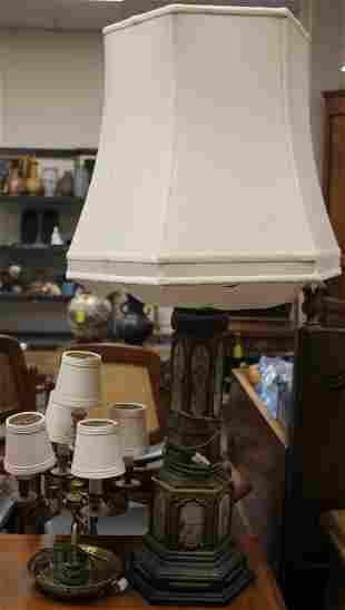 LOT OF 2 VINTAGE DECORATIVE LAMPS