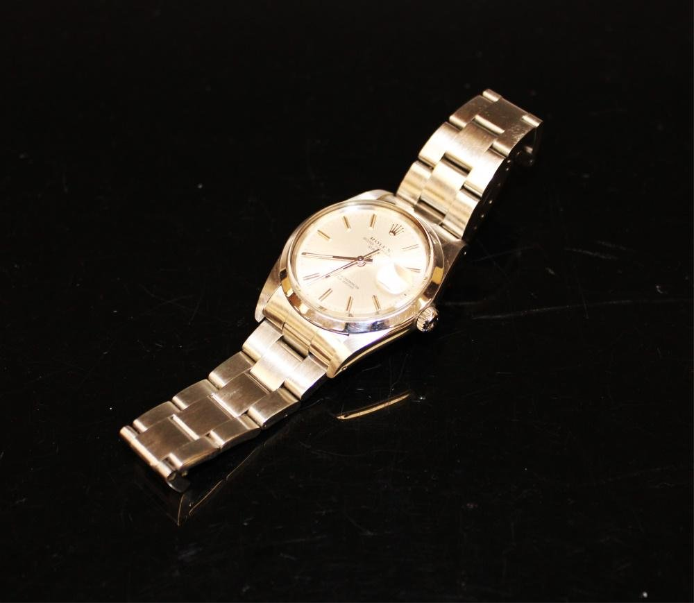 MENS ROLEX OYSTER PERPETUAL DATE WATCH 1966