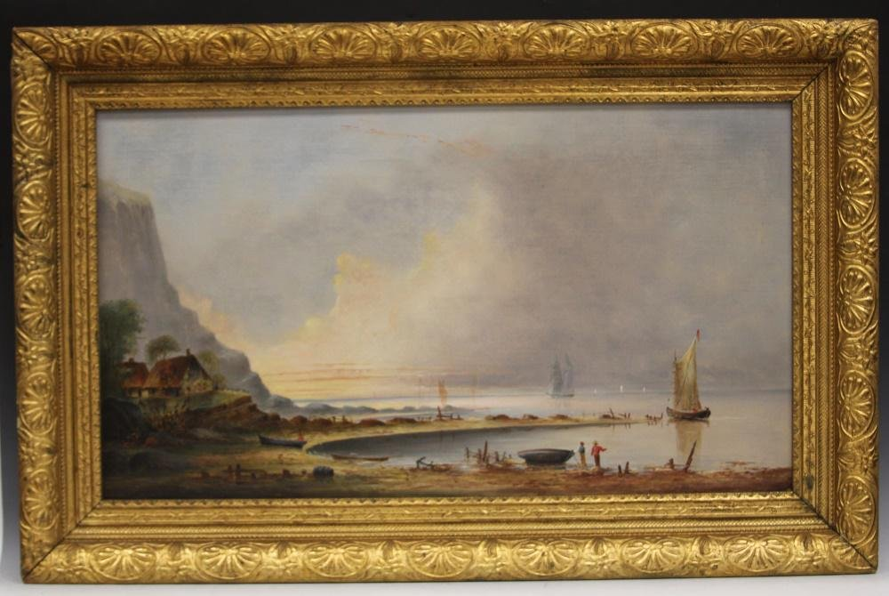 CHARLES D. SHED (B. 1818), OIL ON CANVAS