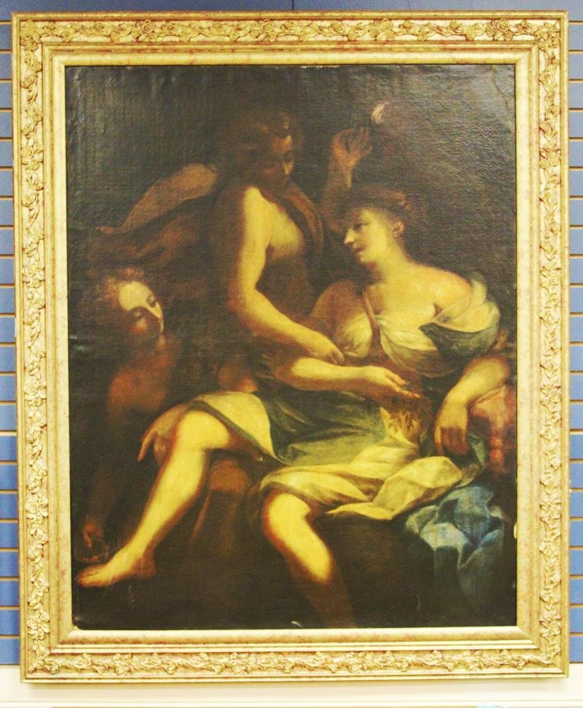 OLD MASTER OIL ON CANVAS, 19TH C. OR EARLIER
