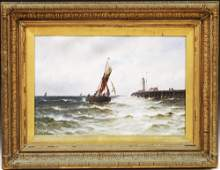 GUSTAVE DE BREANSKI (1856-1898) OIL ON CANVAS (PR)