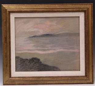 MARY DENEALE MORGAN (1868-1948)  PASTEL