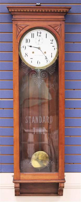 SETH THOMAS STANDARD TIME WALL CLOCK
