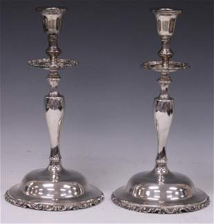 STERLING SILVER MEXICAN CANDELSTANDS