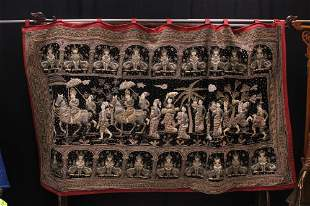 SOUTHEAST ASIAN WOVEN TAPESTRY