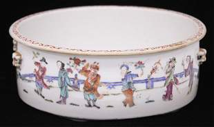 CHINESE FAMILLE QING DYNASTY PORCELAIN BOWL