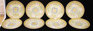 CHINESE QING DYNASTY PAINTED ENAMELED PLATES