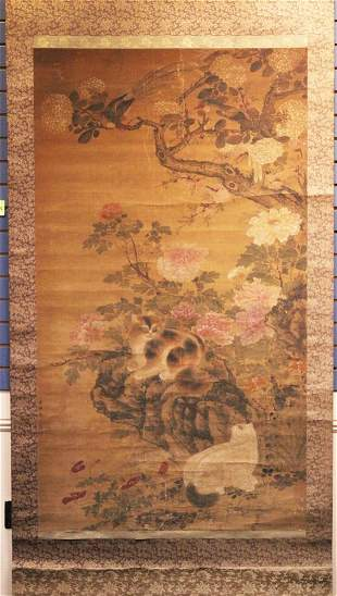 CHINESE PAINTING, STYLE OF QIAN XUAN (1260-1305)