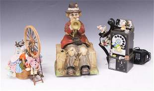 LOT (3) COLLECTIBLE MUSIC BOXES