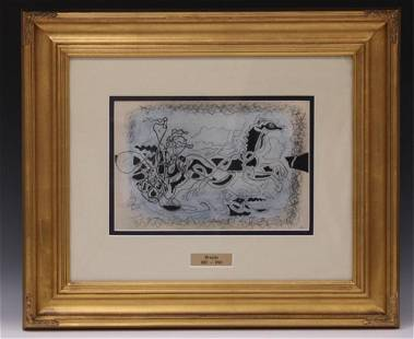 GEORGES BRAQUE (1882-1963), FRAMED LITHOGRAPH