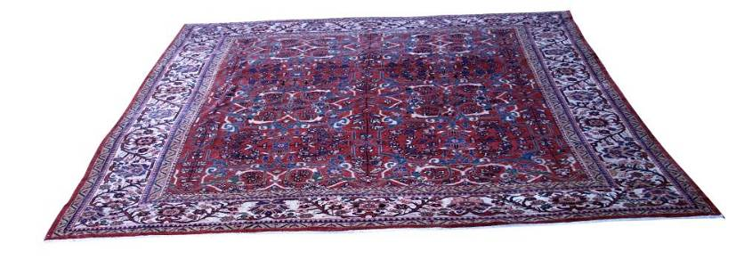 MAHAL WOVEN ROOMSIZE CARPET (RED)
