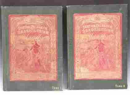 J.BARBOSA RODRIGUES (B.1842) TWO VOLUME BOOK SET