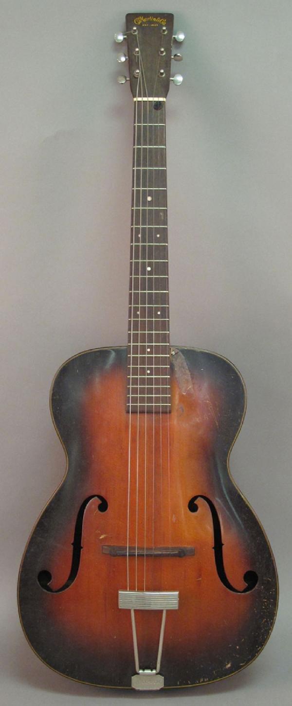 24: CF MARTIN GUITAR, 1935