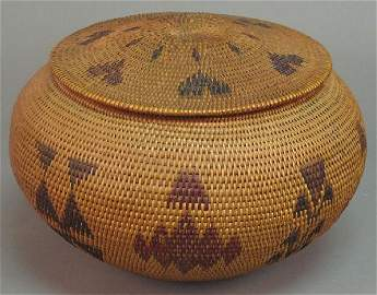 100: WASHO BASKET attributed to Datsolalee